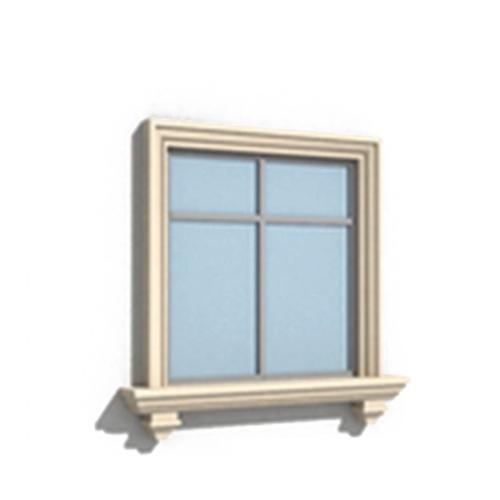 EPS线条门窗套