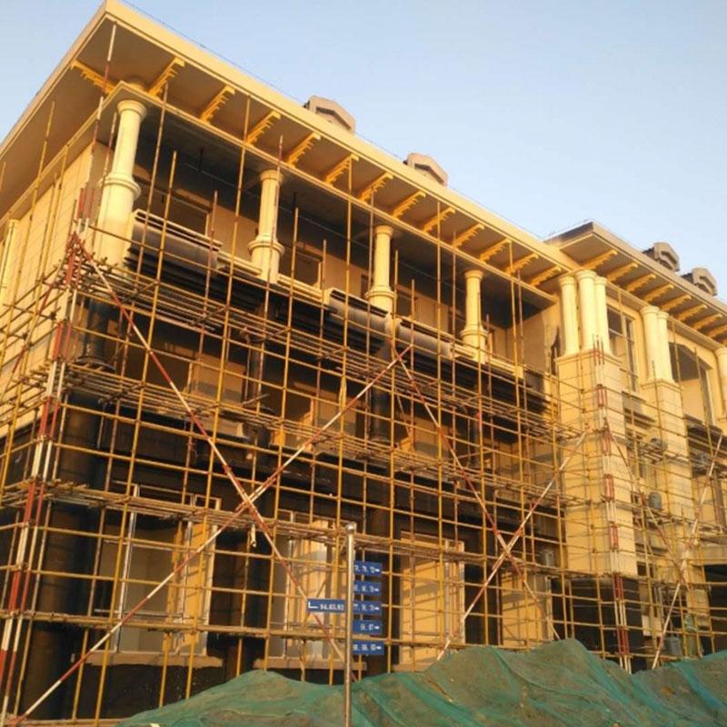 eps线条生产厂家楼房施工案例