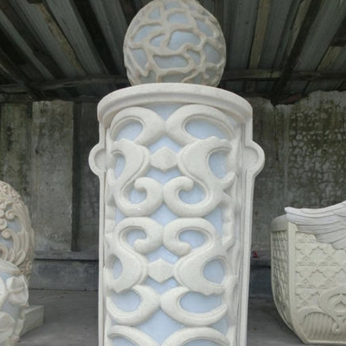 GRC罗马柱镂空雕花